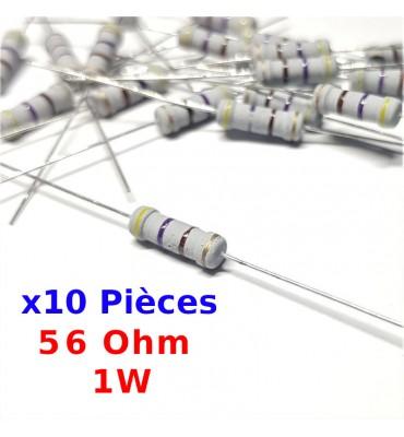 10x Résistance 910 Ohms 5/% 1//2W couche carbone lot de 10 résistances