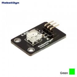RobotDyn LED-Modul (Piranha) sehr hell grün gefärbt