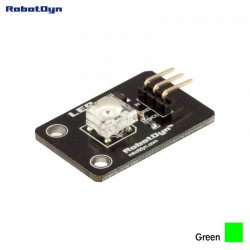 RobotDyn Super-bright green color LED (Piranha) module