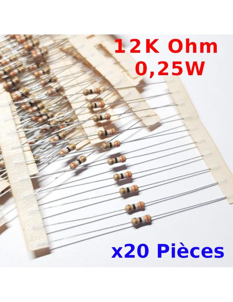 100 résistances couche carbone 8K2 1//4W 5/%
