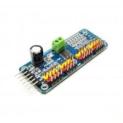 16 dicembre-bit canali PWM Servoazionamento Modulo PCA9685 I2C interfaccia