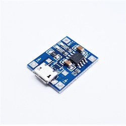 TP4056 5V 1A micro usb lithium battery charging module