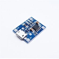 TP4056 Modulo di ricarica batteria al litio micro usb 5V 1A