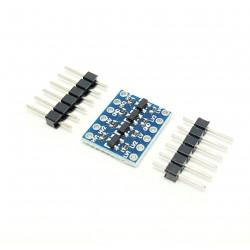 IIC 4 canali I2C Logic Level convertitore bidirezionale Modulo 5V a 3.3V