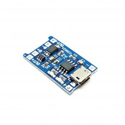 5V Micro USB 1A 18650 Lithium Battery Charging Board module pour arduino