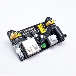 Leistungsmodul 3,3V 5V MB102 MB102 und Versuchsaufbau für Arduino