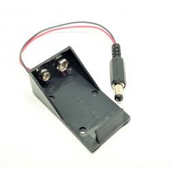 Support batterie de 9V pour Arduino