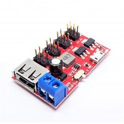 Netzteil Mini USB USB DC / DC USB 5V / 1,8V-12V