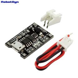 RobotDyn Chargeur de batterie Li-Ion TP4056 avec protection