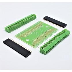 Carte Nano 3.0 contrôleur adaptateur de terminal carte d'extension pour arduino