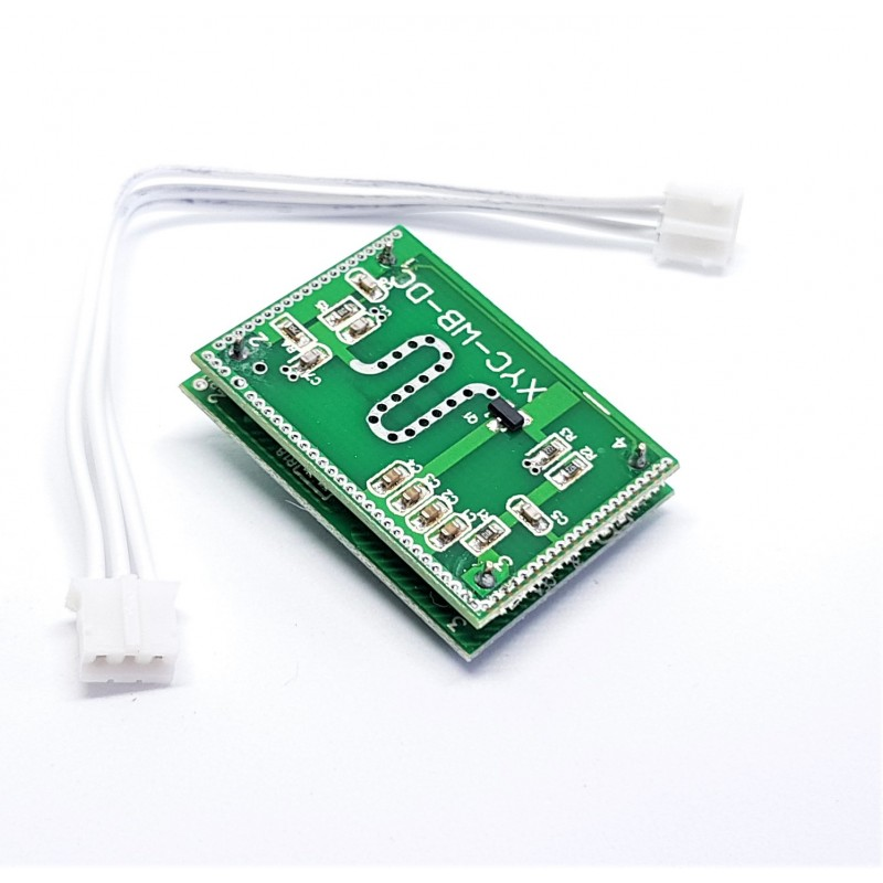 DC 3 3V To 20V 5 8GHz Microwave Radar Sensor Sensor Switch Module For Home  Control