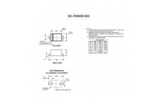 Série BZX84C 11V BZX84C11V 225mW X30 Pcs Zener diode sot-23