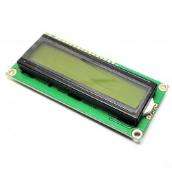 Display LCD 1602 (simboli 2 righe 16 colonne) GIALLO