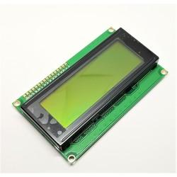Affichage LCD 2004 (symboles 4 rangées 20 colonnes) YELLOW