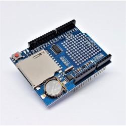 registrador de escudo con lector de tarjetas SD y el reloj integrado