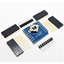 Shield DS1307 DataLog Clock Micro SD + RTC for Wemos D1
