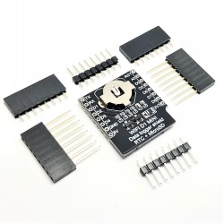 Mini Data Logger Shield micro SD + orologio DS1307 RTC per Wemos D1
