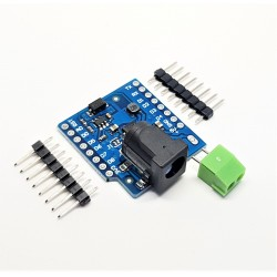 Shield DC power supply for Wemos D1