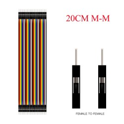 40 male/male Dupont Line Jumper Cable- 40 x 200mm