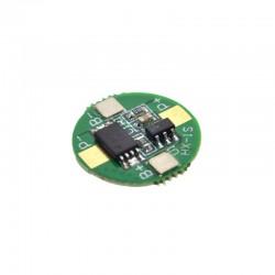Carico protezione 1S 2.5A 3.7V 18650 BMS PCM Li-ione