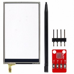 "Kit touch screen resistivo per 3.2 ""80 * 47 millimetri con adattatore"