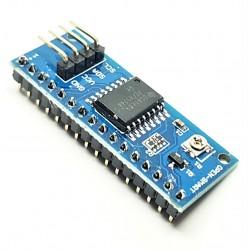 Conversor de I2C para LCD 1602 y 2004 PCF8574 8 bits IO