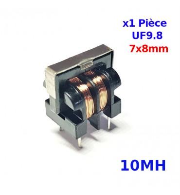 Bobina de filtro de línea 10MH en modo común UU9,8 UF9,8 7x8mm