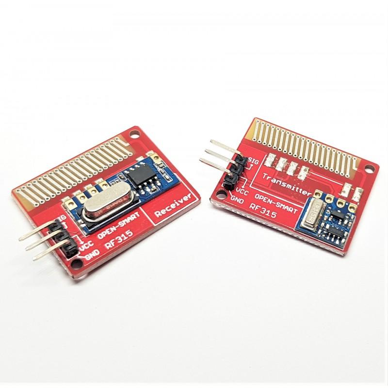Módulo 315 Mhz Transceptor Rf Inalámbrico Lora Para Arduino