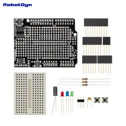RobotDyn Prototype Shield V.2.0 (DIP) for Arduino Uno not soldered