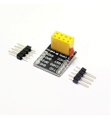 Breadboard adapter for esp-01 esp-01s esp8266