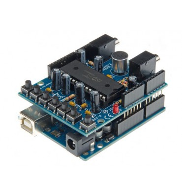 AUDIO SHIELD KIT FOR ARDUINO® TO BE MOUNTED