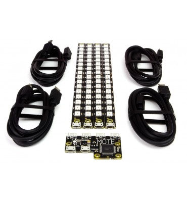 Mote - Complete kit (Controllers + 4 LED strips + cables)
