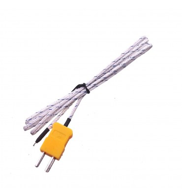 Thermocouple cable probe type K TP-01 for TM-902C TES-1310 MD-6801