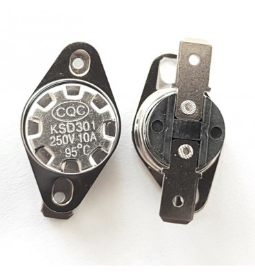 Thermostat Switch NF KSD301 10A 95°C N-CLOSE