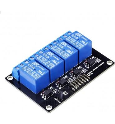 RobotDyn Relay Module 4 relays, 5V