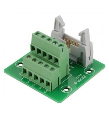 10 pin terminal block adapter, IDC10P
