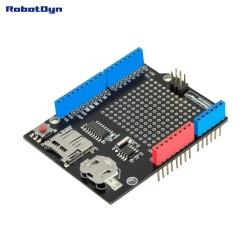 Carte RobotDyn Data logger pour Arduino, MicroSD-card + RTC