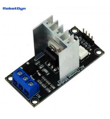 Light Dimmer Module, 1 Channel, 3.3V/5V logic,8A AC 50/60hz, 220V/110V