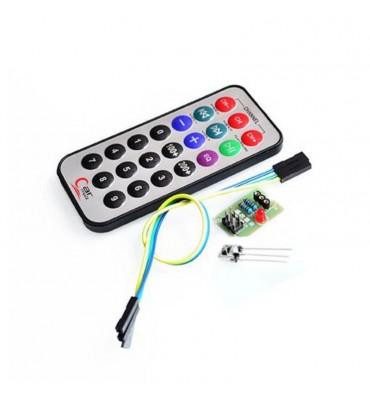 HX1838 Kit télécommande Infrarouge sans pile pour Arduino