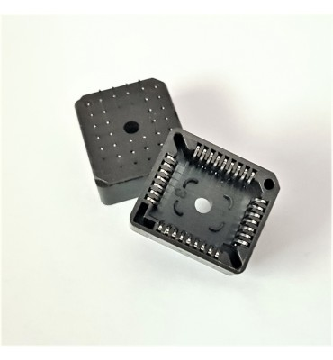 x2 Supports PLCC32 DIP IC Socket 32 broches DIP