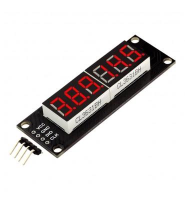 TM1637, Affichage LED rouge 6 chiffres-7 segments-46x14mm
