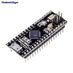 RobotDyn Micro ATmega32U4-MU soldered