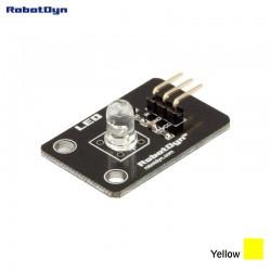 RobotDyn Module LED de couleur JAUNE
