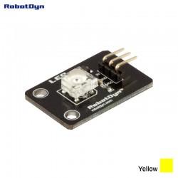 RobotDyn Modulo LED (Piranha) colore giallo molto brillante