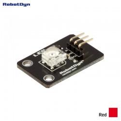 RobotDyn Super-bright red color LED (Piranha) module