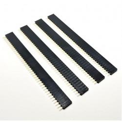 PCS X4 Header breve saldare femmina 40 2,54 millimetri perni
