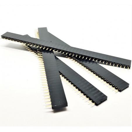 X4 PCS Header courtes femelles à souder 40 pins 2.54mm 3507Z