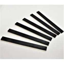 X6 PCS Header courtes femelles à souder 40 pins 2.54mm