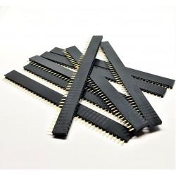 X8 PCS Header courtes femelles à souder 40 pins 2.54mm