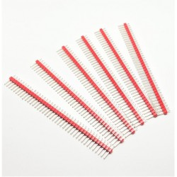 maschi X6 PCS Header Red saldatura 40